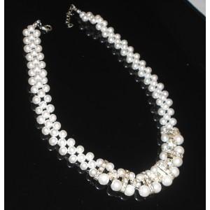 Náhrdelníky perličkové a s krystaly