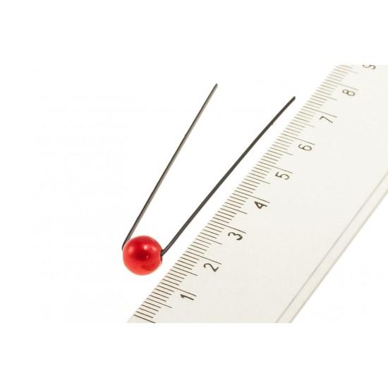 Vlásenka červená perlička bv05