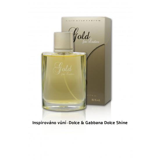 Dámský parfém Gold for ladies - Côte d'Azur EDP 100 ML EA009