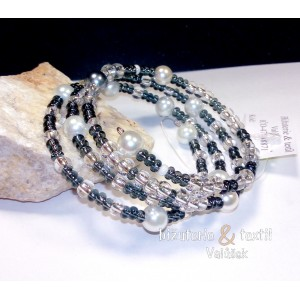 Náramky perličkové/krystaly