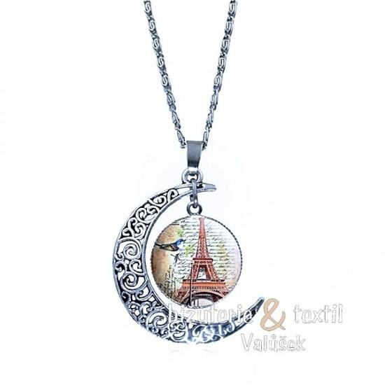 Náhrdelník Eiffelova věž NJ030