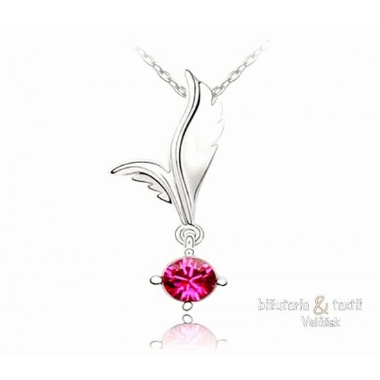 Náhrdelník Fantasia růžový NJ034a